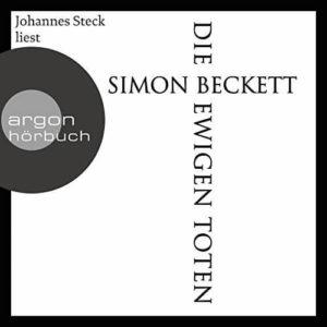 Die ewigen Toten von Simon Beckett - Cover Hörbuch