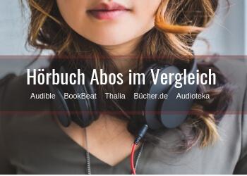 Hörbuch Abo Vergleich auf hoerbuecherfan.de
