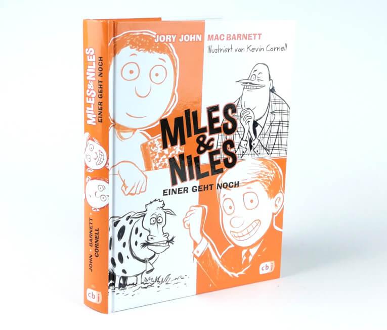 Miles & Niles 4 - Einer geht noch - Buchcover