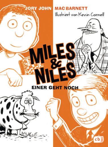 Miles & Niles - Einer geht noch, Band 4 - Cover