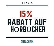 Thalia Gutschein für Hörbücher 15%