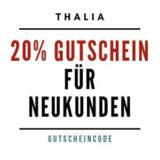 20% Gutschein für Neukunden von Thalia