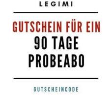 Legimi Gutschein 90 Tage Probeabo