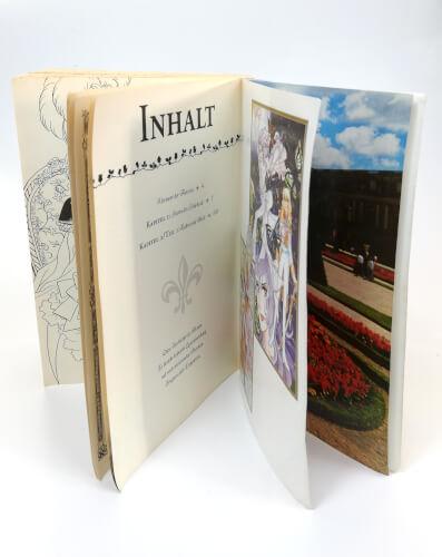 Manga Die Rosen von Versailles - ein Blick ins Buch
