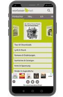 Apps für kostenlose Hörbücher - vorleser.net