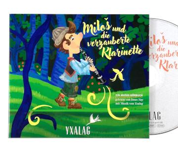Miloš und die verzauberte Klarinette – Hörbuch, Audio CD(1)