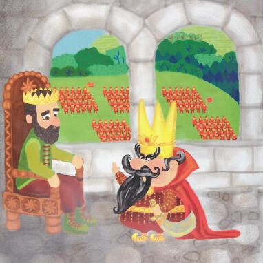Milos und die verzauberte Klarinette - Illustration Kapitel 3 Bild 2