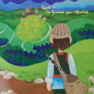 Milos und die verzauberte Klarinette - Illustration Kapitel 4