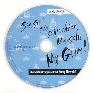 Sie sind ein schlechter Mensch, Mr Gum - Audio CD