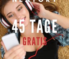 Nextory Gutschein 45 Tage