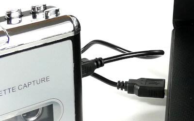 Konverter mit PC o. Laptop verbinden