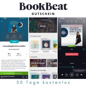 BookBeat Gutschein - 4 Wochen kostenlos