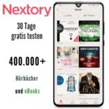 Nextory Gutschein - 30 Tage gratis testen