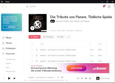Deezer Desktop App