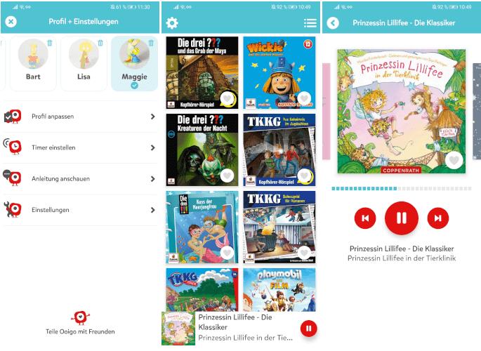 Ooigo - Die Hörspiel-App für Kinder