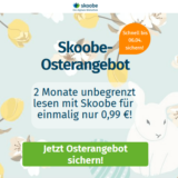 Skoobe Osterangebot 2021