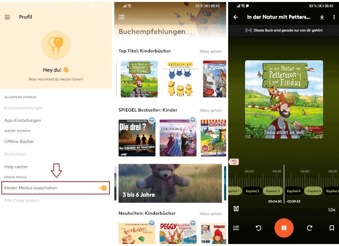 Storytel-mit Kinder-Modus
